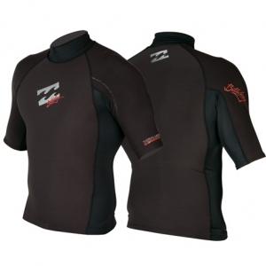 Billabong Furnace Short Sleeved Thermal polypro Vest Juniors