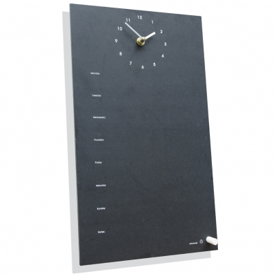 Ashortwalk Recycled Clock and Week Planner