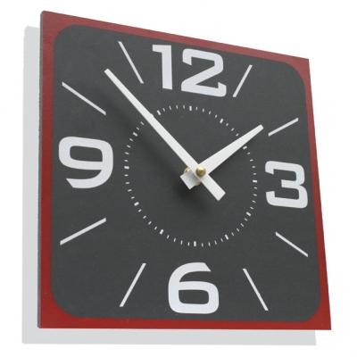 Ashortwalk Recycled Retro Wall Clock