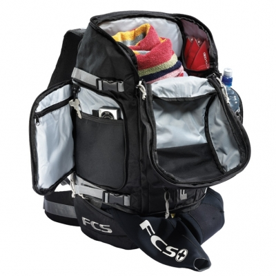 FCS 50l Trekker Backpack for Surf Travel
