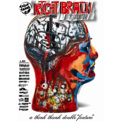 Right Brain Left Brain Snowboard DVD By Think Thank