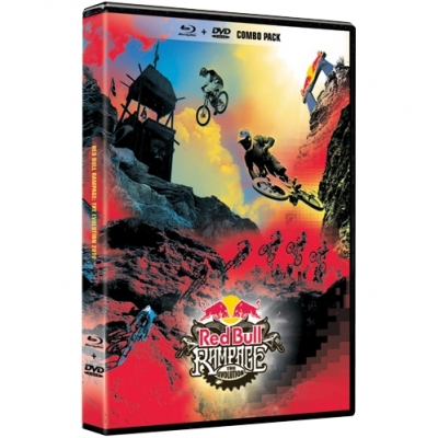 Red Bull Rampage The Evolution 2010 DVD Blu-Ray Combi Pack