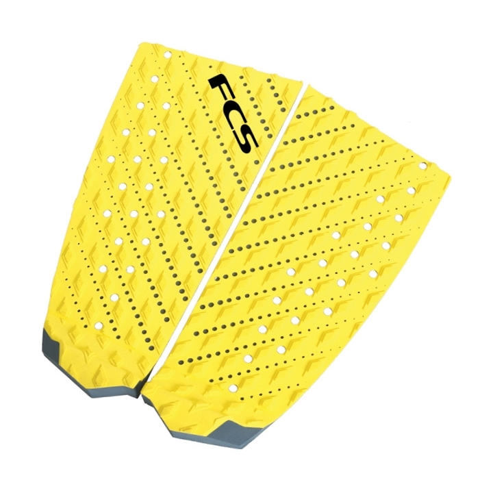 FCS T2 Surfboard Tail Pad Taxi Yellow