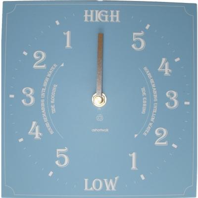 Ashortwalk Recycled Tide Clock Blue