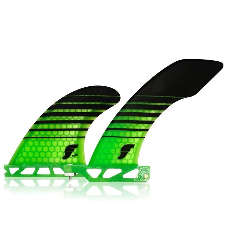 Futures Fins Hatchet 2+1 Longboard Surfboard Fin Set