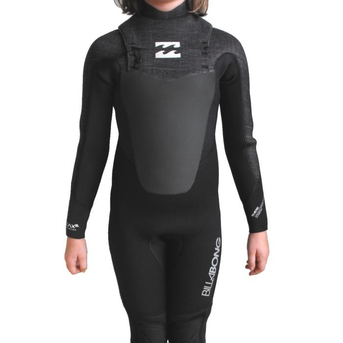 Billabong 5/4 Boys Foil Wetsuit Chest Zip GBS