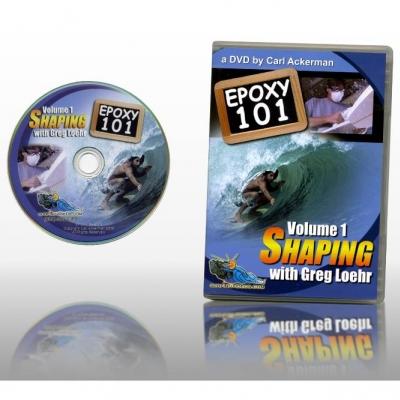 Epoxy Surfboard Shaping 101 DVD
