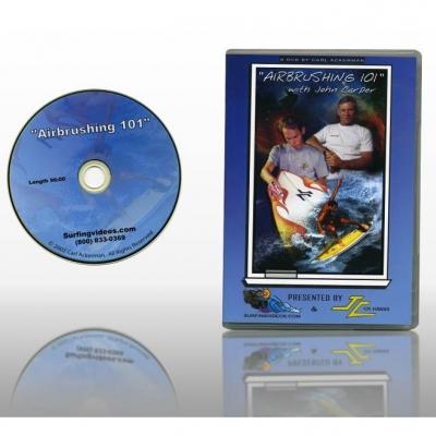 Surfboard Airbrushing 101 DVD