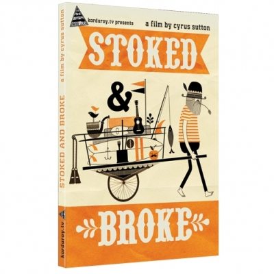 Stoked and Broke Surf DVD