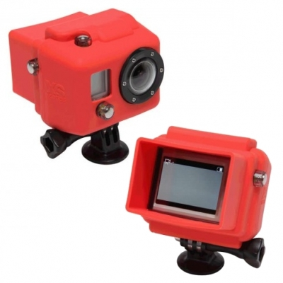 XSories Hooded Silicone Cover for Gopro HD Cameras