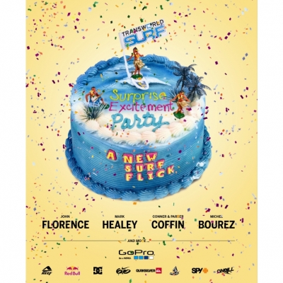 Transworld Surf Surprise Excitement Party Surf DVD