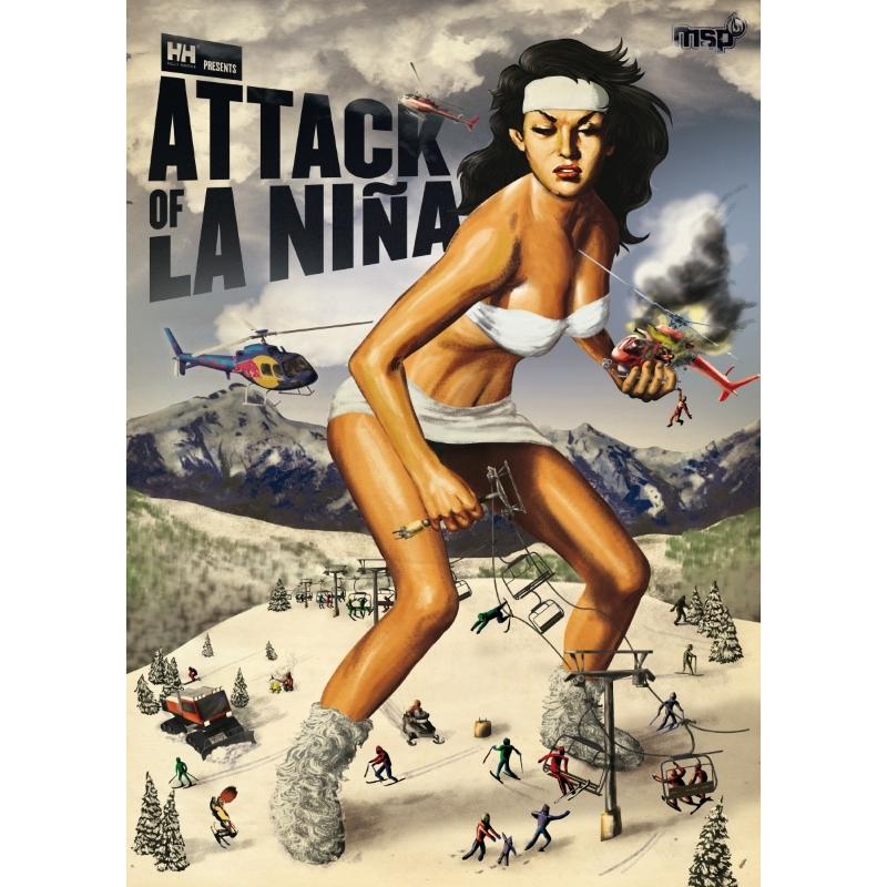 Attack of La Nina Extreme Skiing DVD