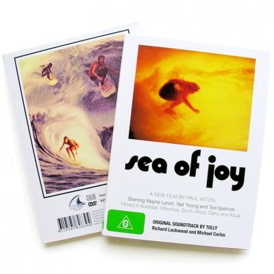 Sea Of Joy Surf DVD By Paul Witzig