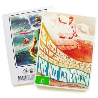 The Hot Generation 1967 Surf DVD By Paul Witzig