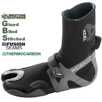 Xcel 3mm Infiniti Wetsuit Boots Split Toe