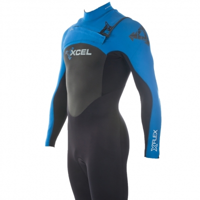 Xcel 3/2mm XFlex Wetsuit XZip2 Chest Zip