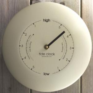 Ashortwalk Tide Clock Cream