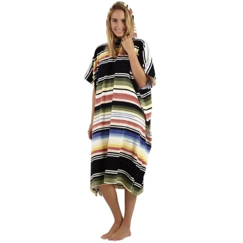 Billabong Womens Salty Hoodie Beach Changing Robe