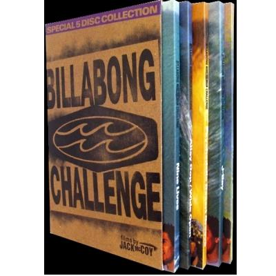 Billabong Challenge 5 Disc Surf DVD Boxed set