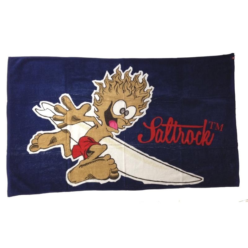 Saltrock Towel Running Man Design