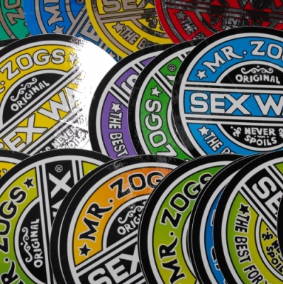 Sex Wax Sticker 3inch - pack of 2