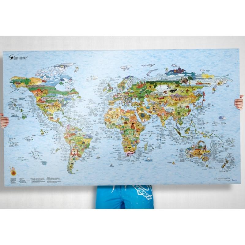 The Surf Trip Map - World Surf Spot Map