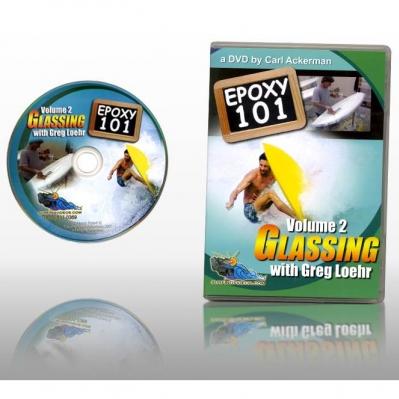 Epoxy Surfboard Glassing 101 DVD