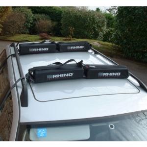 Rhino Rax Plus Soft Roof Rack System For Waveskis Canoes