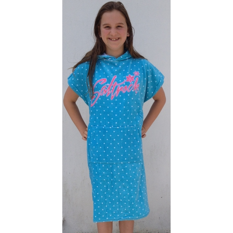 Saltrock Girls Beach Changing Robe