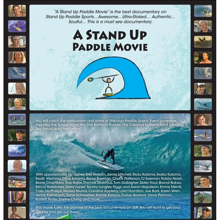 A Stand Up Paddle Movie SUP DVD