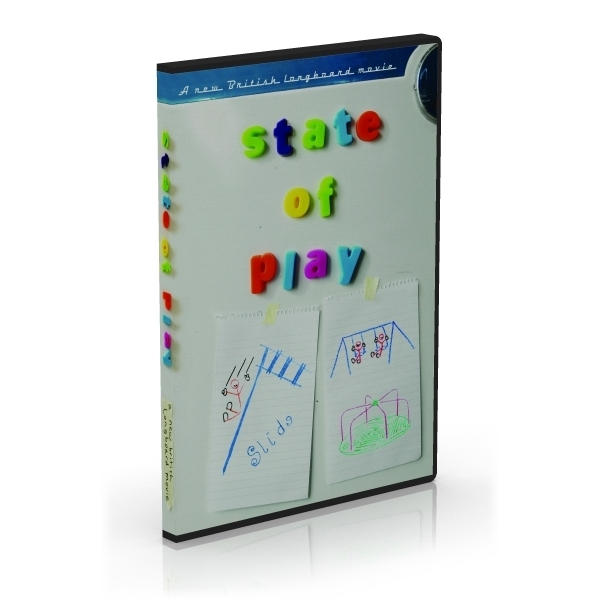 State of Play UK Longboard Surf DVD