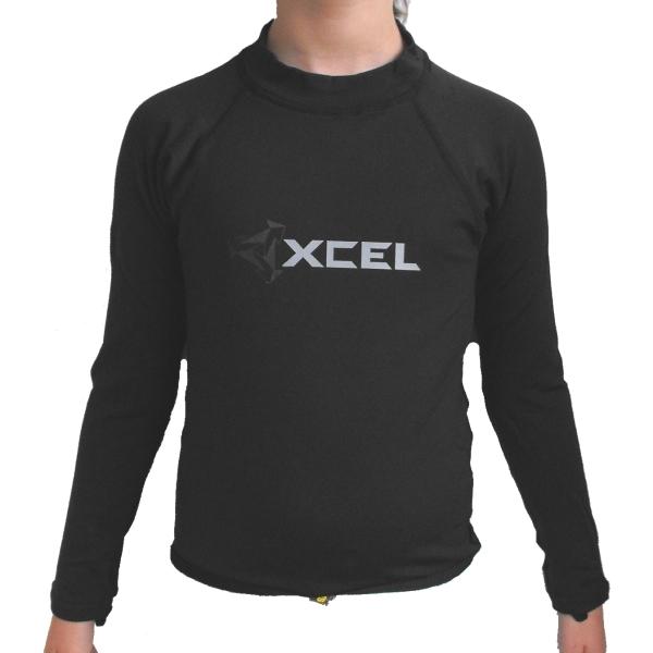 Xcel Boys Polypro Long Sleeved Rash Vest
