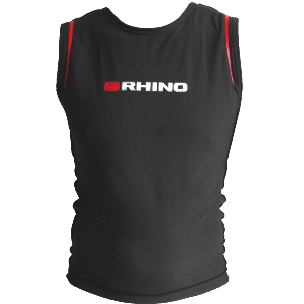 Rhino Sleeveless Thermal Polypro Rash Vest