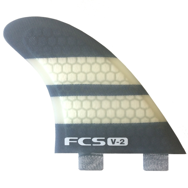 FCS V2 K2.1 PC TriQuad Surfboard Fin set