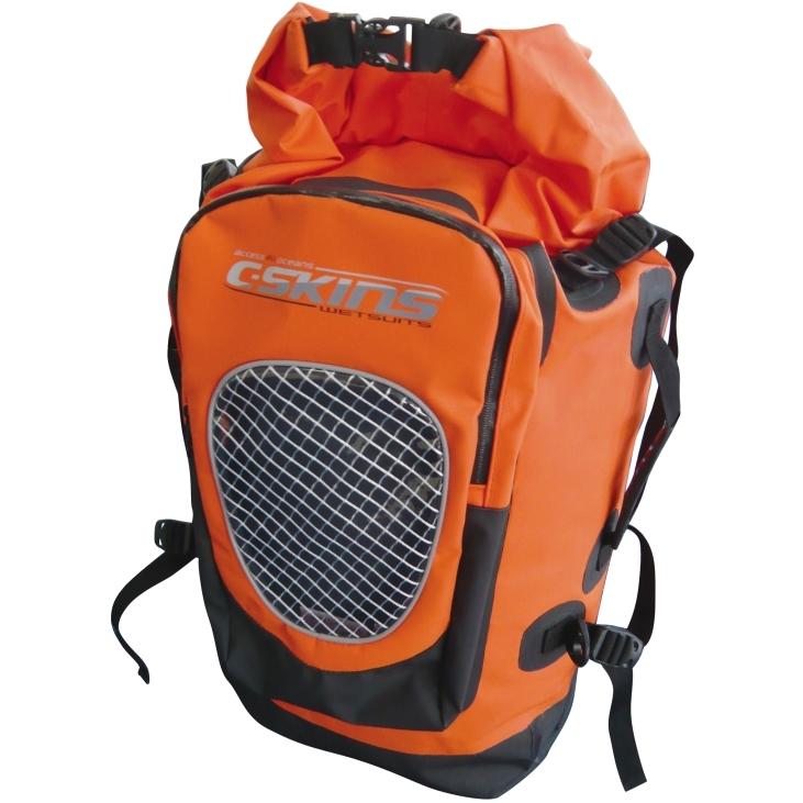 CSkins Wet Dry Backpack Orange 75 Litre