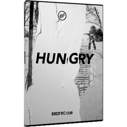 Hungry Snowboard DVD By Brothers Factory