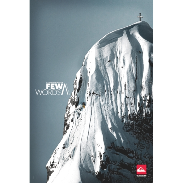 A Few Words Ski DVD By Quiksilver