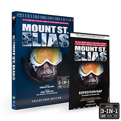 Mount St Elias Extreme Skiing DVD and BluRay