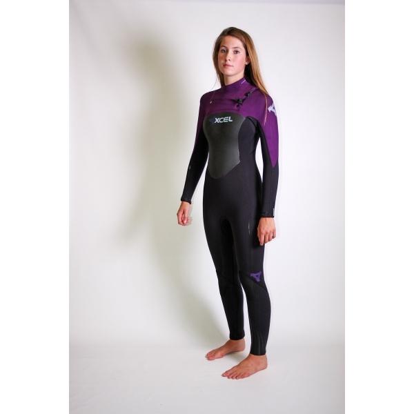 Xcel 3/2 mm Ladies Infiniti Wetsuit Chest Zip 2013