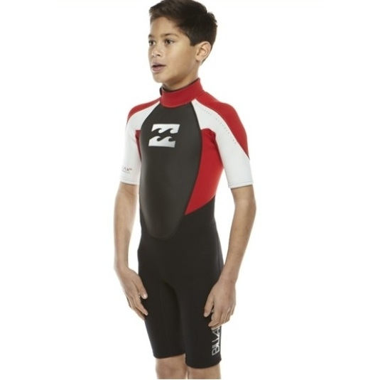 Billabong 2mm Intruder Boys Shorty Wetsuit 2013