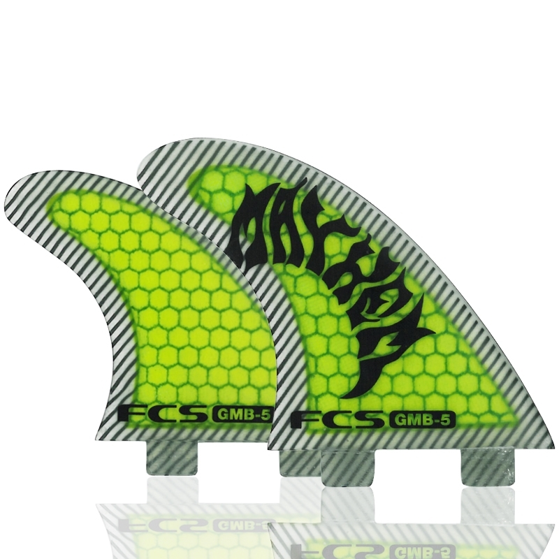 FCS GMB5 Quad Surfboard Fin Set - Performance Core