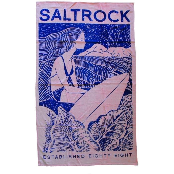 Saltrock Towel Waiting - Salmon Pink