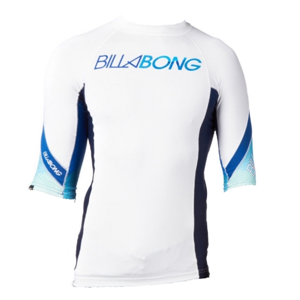 Billabong Rash Vest Flux SS White