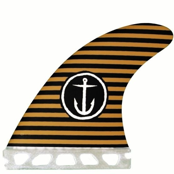 Captain Fin Army Stripes Surfboard Fin Set Small