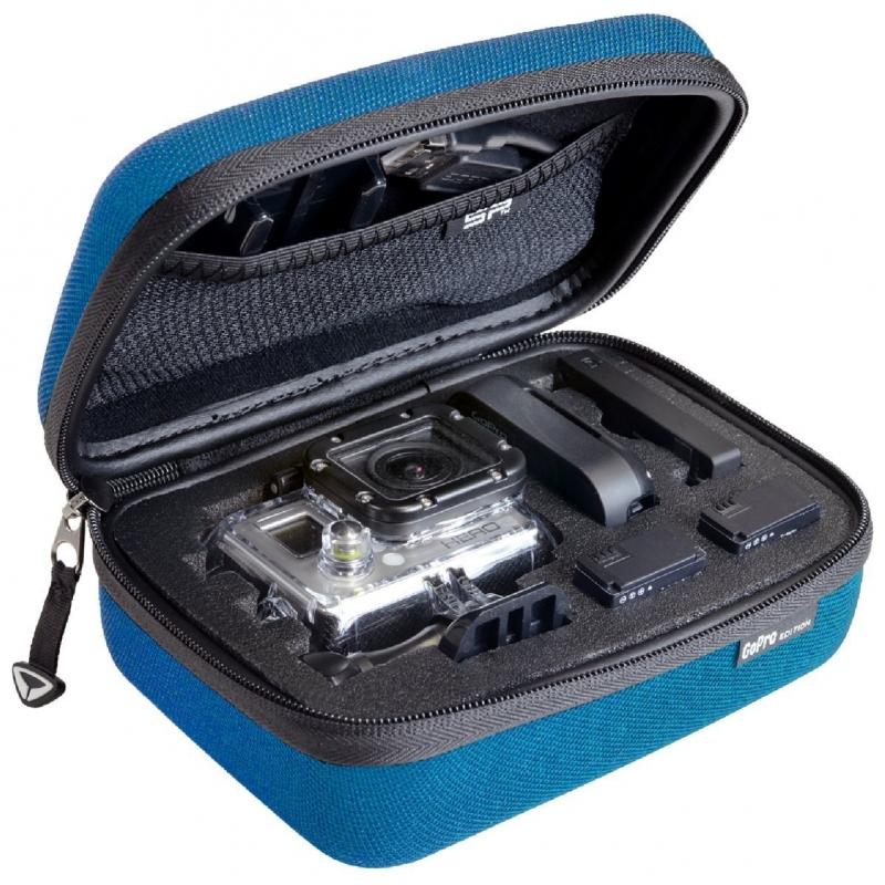 SP POV Mini Case for Gopro Cameras Blue