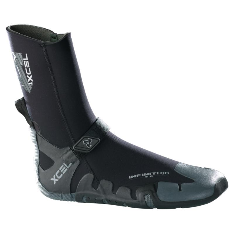 Xcel 5mm Infiniti QD Round Toe Wetsuit Boots
