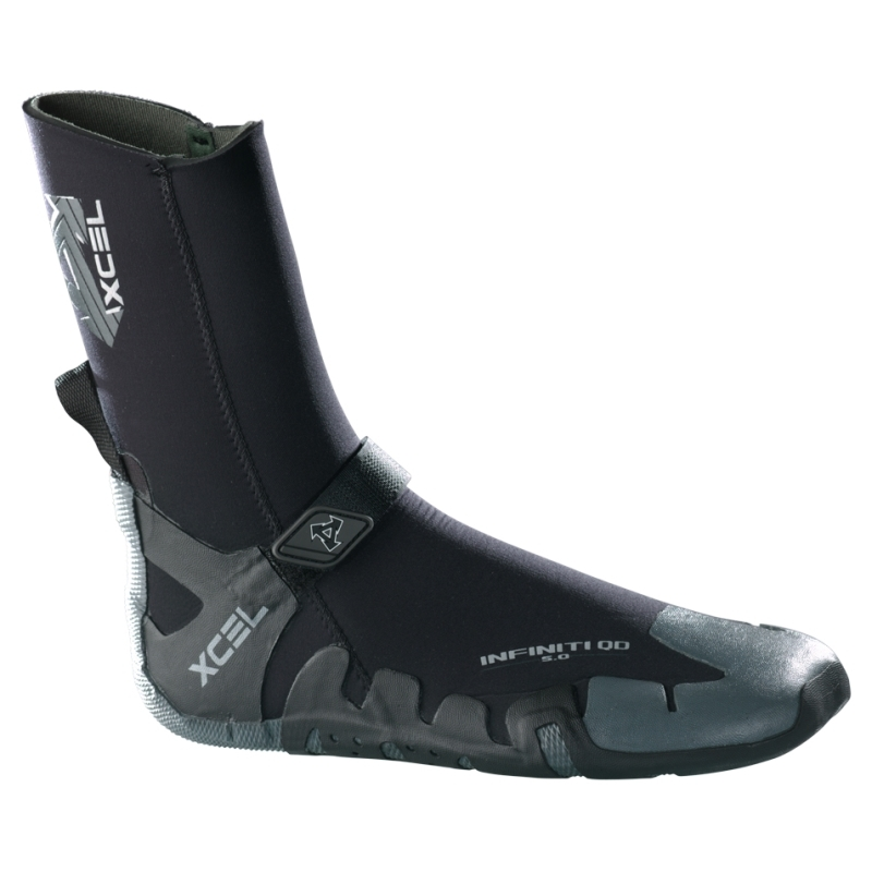 Xcel 7mm Infiniti QD Round Toe Wetsuit Boots
