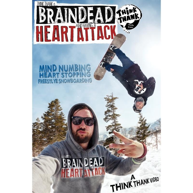 Brain Dead Heart Attack Snowboard DVD BluRay Combo Pack