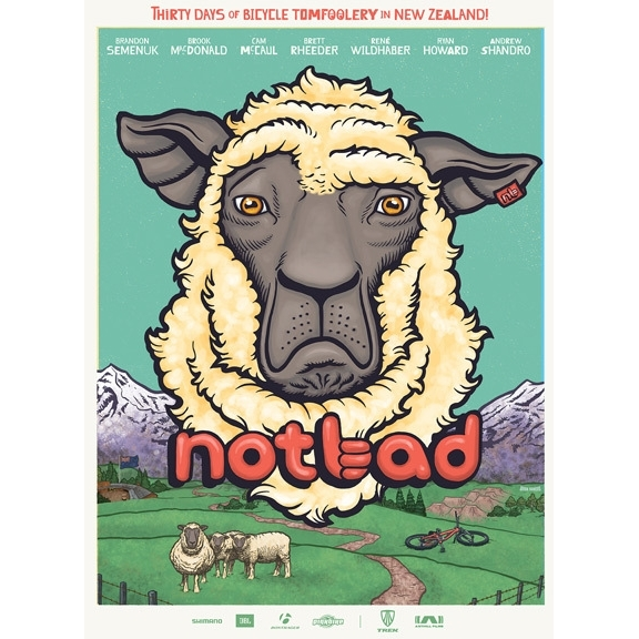 NotBad Mountain Bike DVD BluRay Combo Pack