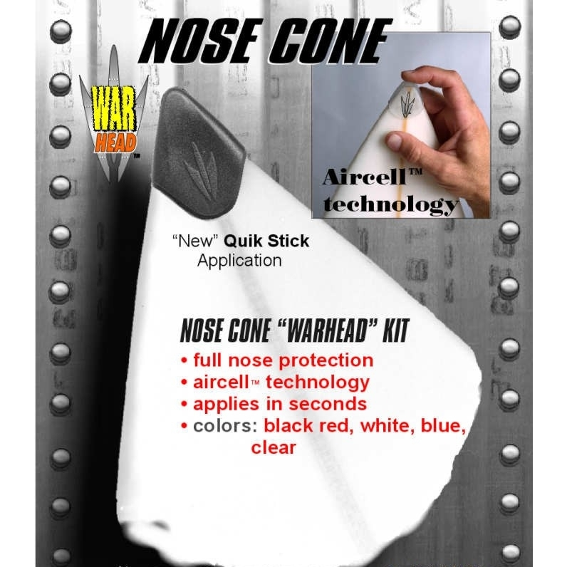 Warhead Nose Cone with Aircell for Surfboard protection